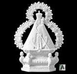 Vierge de la tête - Argentée