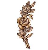 Rose côté gauche - Bronze