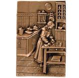 Scène de cuisine - Bronze - Ref : 1845