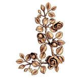 Bouquet de roses côté droit - Bronze