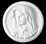 Visage de la Vierge - Marbre