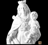 Vierge du Mont-Carmel - Bronze