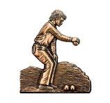 Joueur de pétanque - Bronze - Ref : 1952