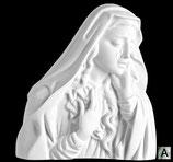 Vierge des douleurs - Argentée