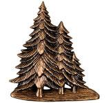 Sapins - Bronze - Ref : 1937