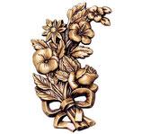 Bouquet de roses - Bronze - Ref : 1988