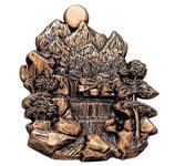 Cascade - Bronze - Ref : 1980