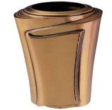 """Vase série """"Pergamino"""" - Bronze"""