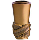 "Vase série ""Nudos"" - Bronze"