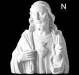 Coeur de Jésus - Noir