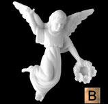 Ange à gauche - Bronze
