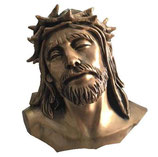 Buste du Christ - Bronze
