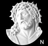 Tête du Christ - Noire