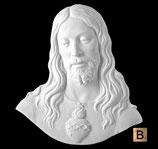 Coeur de Jésus - Bronze