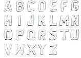Alphabet : 3 cm
