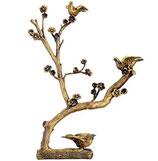 Arbre avec colombes - Bronze
