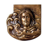 Christ dos plat - Bronze