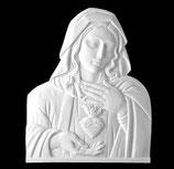 Coeur de Marie - Marbre