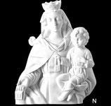Vierge du Mont-Carmel - Noire