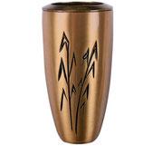 "Vase série ""Espigas"" - Bronze"
