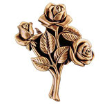 Bouquet de roses - Bronze - Ref : 1997