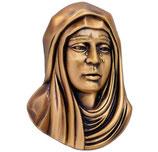 Visage de la Vierge - Bronze