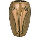 """Vase série """"Papiro"""" - Bronze"""
