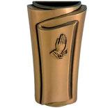 """Vas avec mains série """"Pergamino"""" - Bronze"""