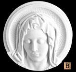 La Vierge douloureuse - Bronze