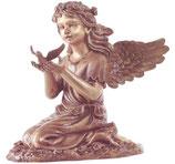 Ange avec colombe - Bronze