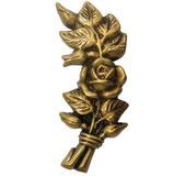Rose côté droit - Bronze