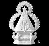 Vierge de la tête - Noire