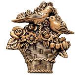 Panier - Bronze - Ref : 1979