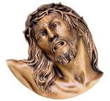 Visage du Christ - Bronze