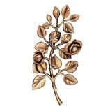 Bouquet de roses - Bronze