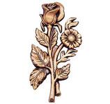 Bouquet de roses - Bronze - Ref : 1991