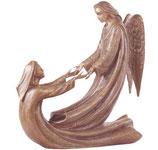 Ange et âme - Bronze