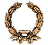 Couronne de laurier - Bronze - Ref : 1930
