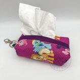 "Handkerchiefs bag ""purple"""