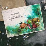 """Weihnachtskarte """"Magische Weihnachten 2"""""""
