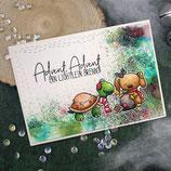 """Weihnachtskarte """"Advent Advent"""""""
