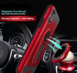 2in1 Hybrid Magnetic Car Mount Ständer Rüstung Fall für Samsung Galaxy S9