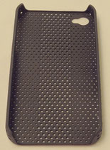 iPhone 4 / 4S Cover Mesh schwarz
