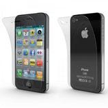 iPhone 4 / 4s - Schutzfolie Front / Back