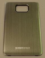Samsung Galaxy S2 Aluminium Batteriefachdeckel silber