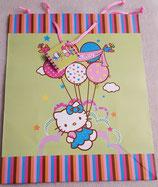 Geschenktasche Hello Kitty Balloons