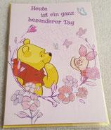 Glückwunschkarte Winnie the Pooh
