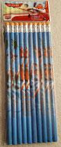 Bleistift mit Radiergummi 10 teilig Disney Planes
