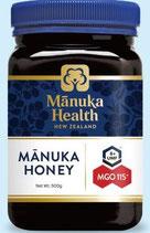 商品名:マヌカヘルス MGO115 UMF6̟⁺ 500g