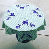 """""""Tisch""""-Tuch Hase & Bambi"""
